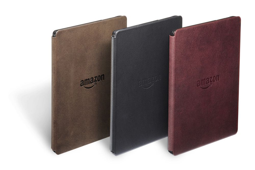 Электронная книга Amazon Kindle Oasis with Leather Charging Cover Walnut Wi-Fi + 3G (Special Offers). Фото N3
