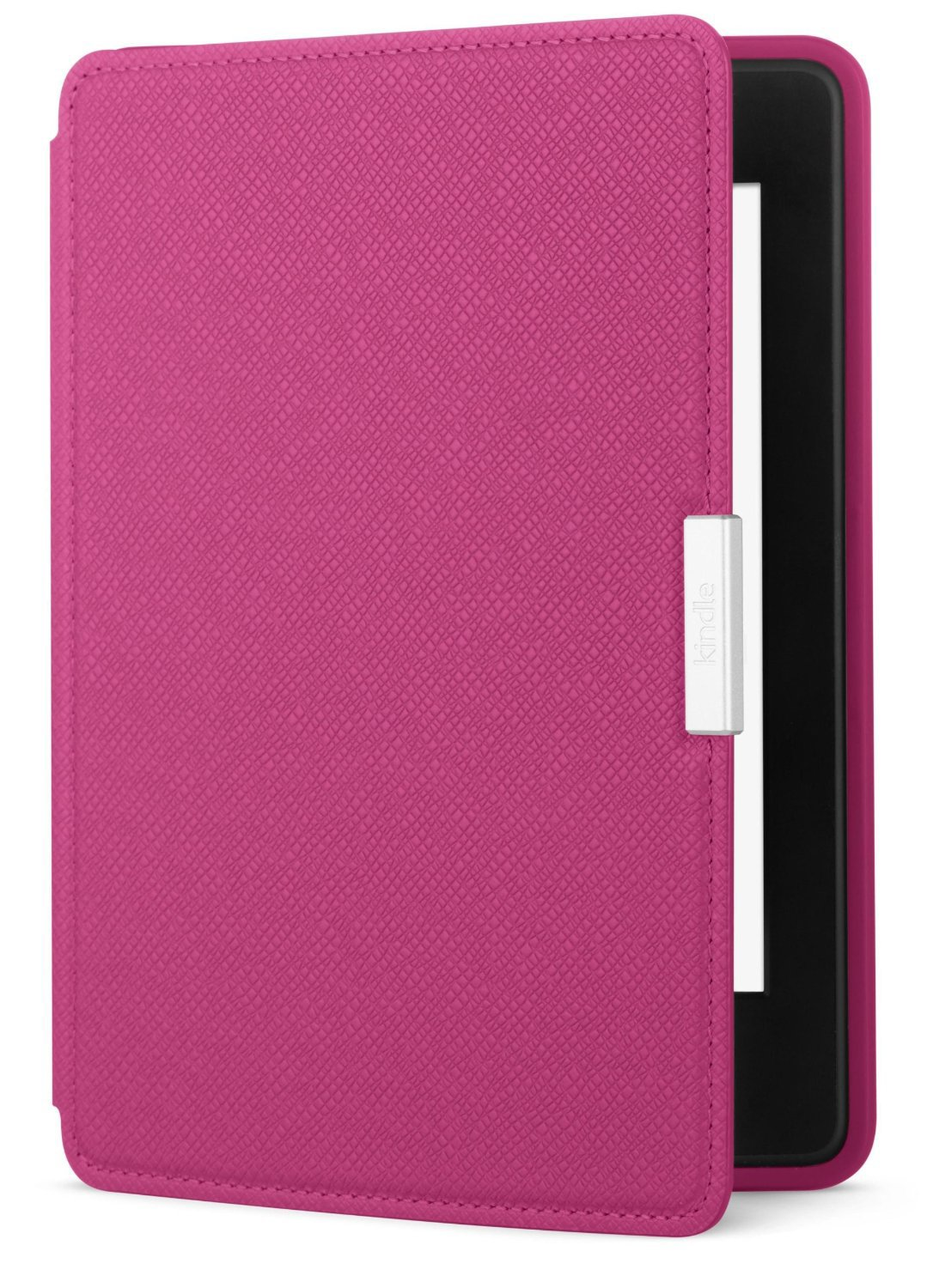 Чехол Leather Cover для Amazon Kindle Paperwhite Fuchsia (Розовый)