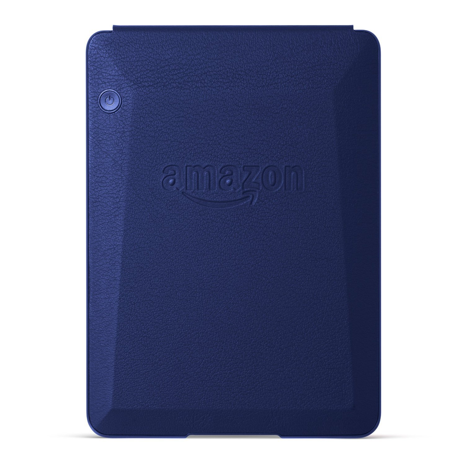 Чехол-обложка Amazon Protective Leather Cover для Kindle Voyage (синий). Фото N5