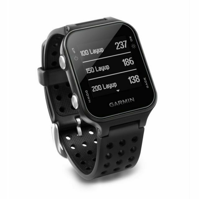 Умные часы Garmin Approach S20 (Black)