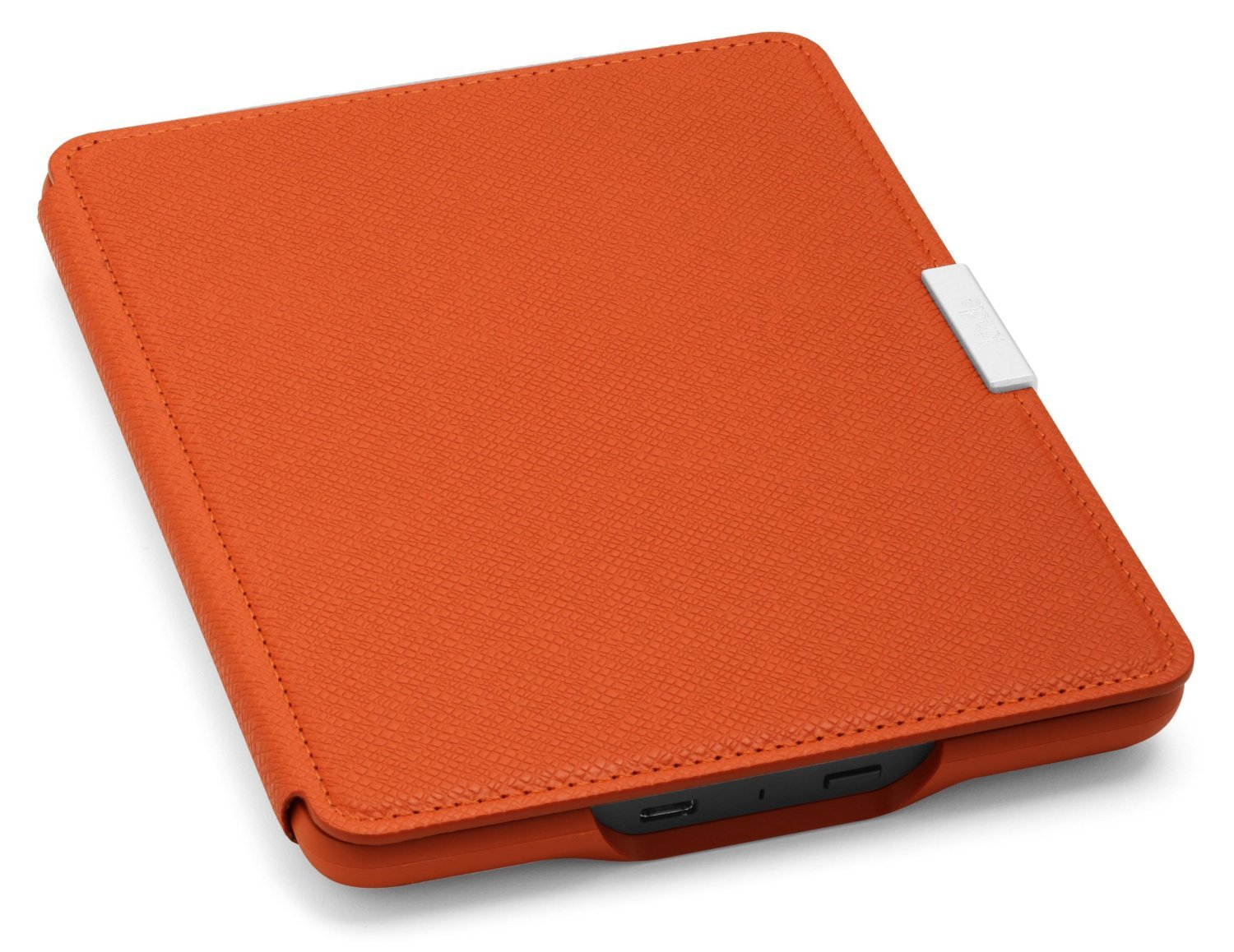 Чехол Leather Cover для Amazon Kindle Paperwhite Persimmon (Оранжевый). Фото N3