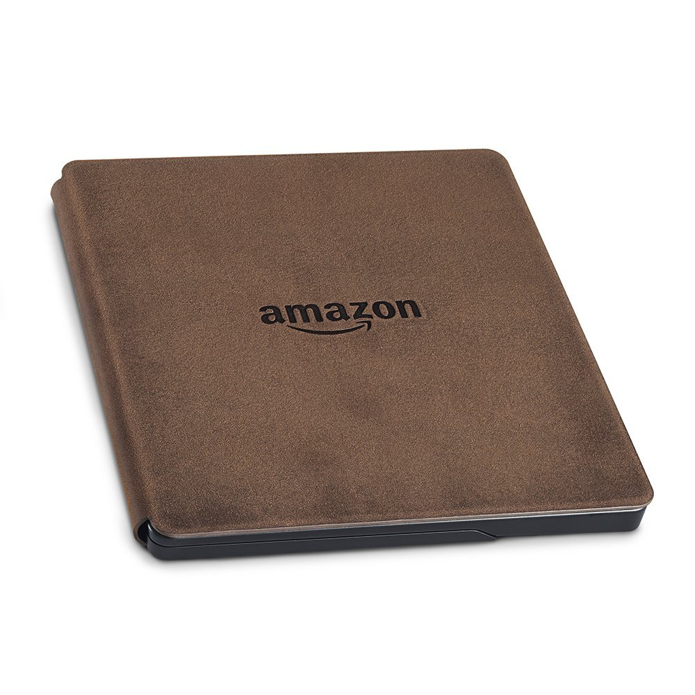 Электронная книга Amazon Kindle Oasis with Leather Charging Cover Walnut (Без рекламы). Фото N4