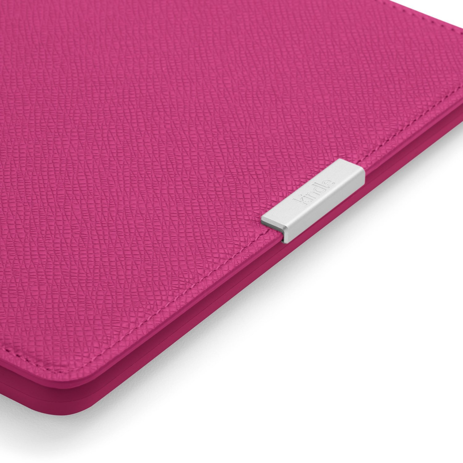 Чехол Leather Cover для Amazon Kindle Paperwhite Fuchsia (Розовый). Фото N3