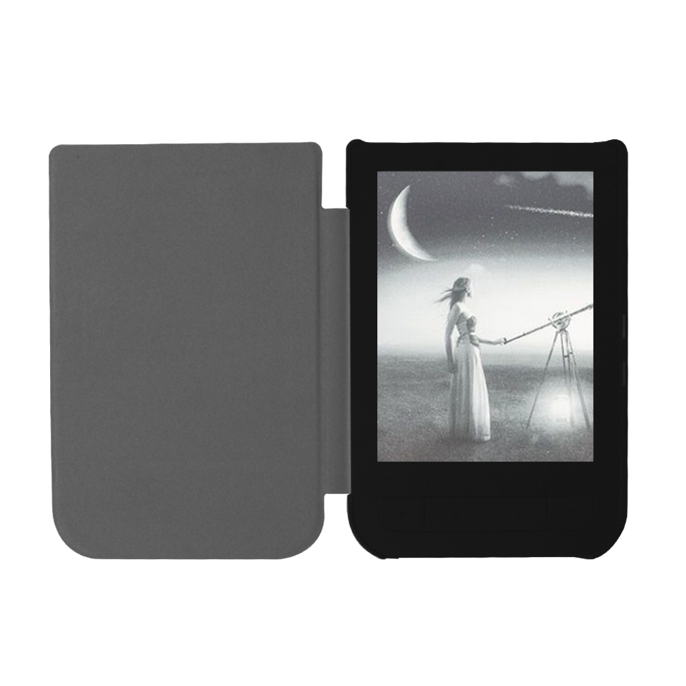 Чехол-обложка Slim Case с магнитом для PocketBook 631 Touch HD красный. Фото N8