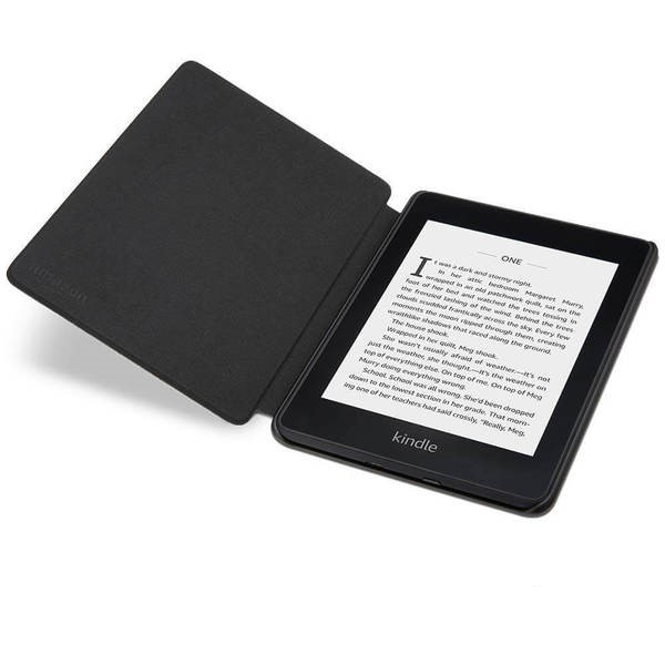 картинка Чехол-обложка для Amazon All-new Kindle Paperwhite Water-Safe (10th Generation-2018) Charcoal Black от магазина 1Reader.ru . Фото N4