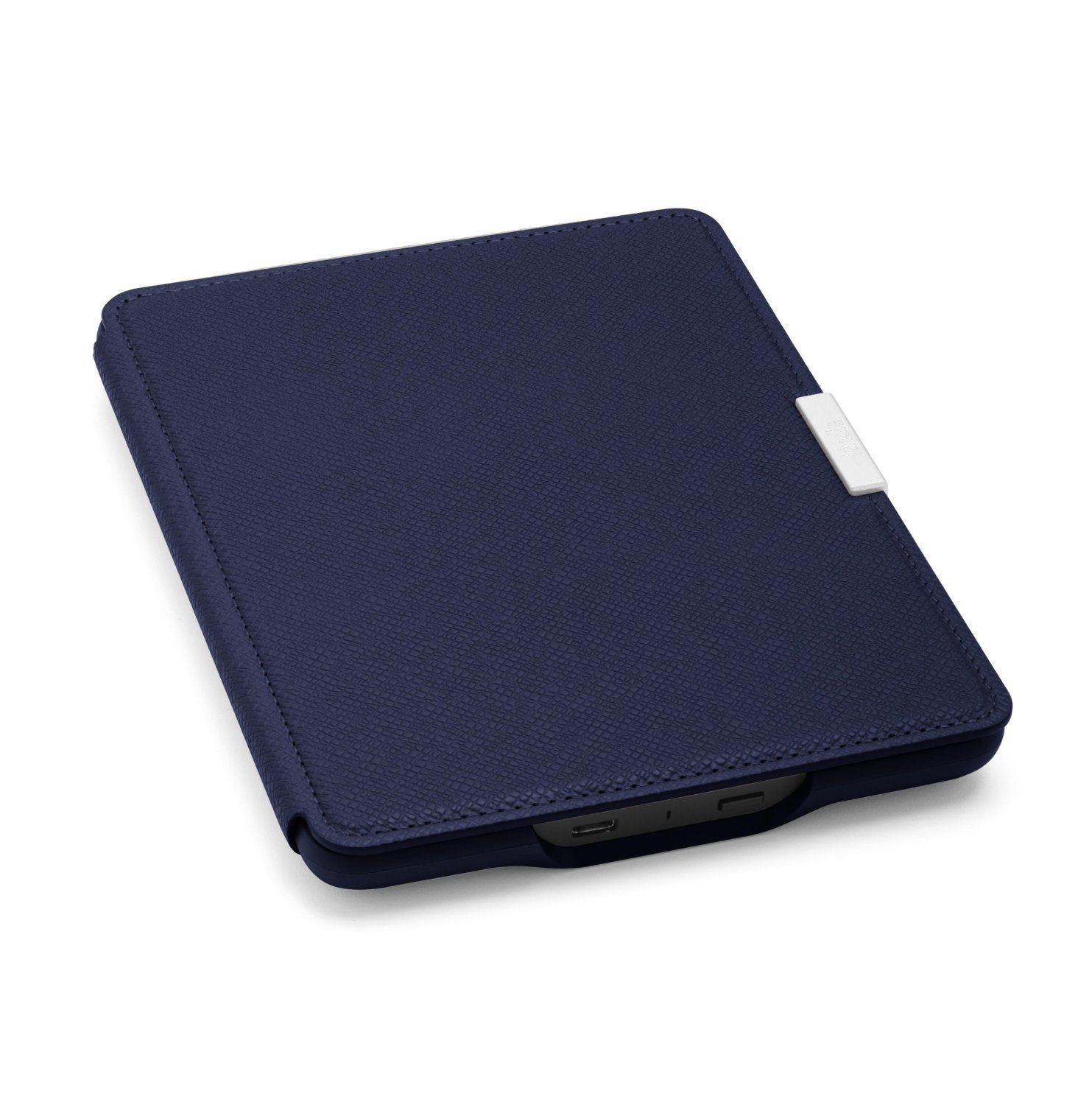 Чехол Leather Cover для Amazon Kindle Paperwhite Ink Blue (Темно-синий). Фото N4