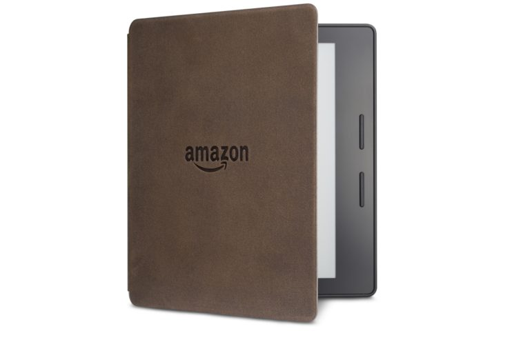 Электронная книга Amazon Kindle Oasis with Leather Charging Cover Walnut Wi-Fi + 3G (Без рекламы). Фото N5