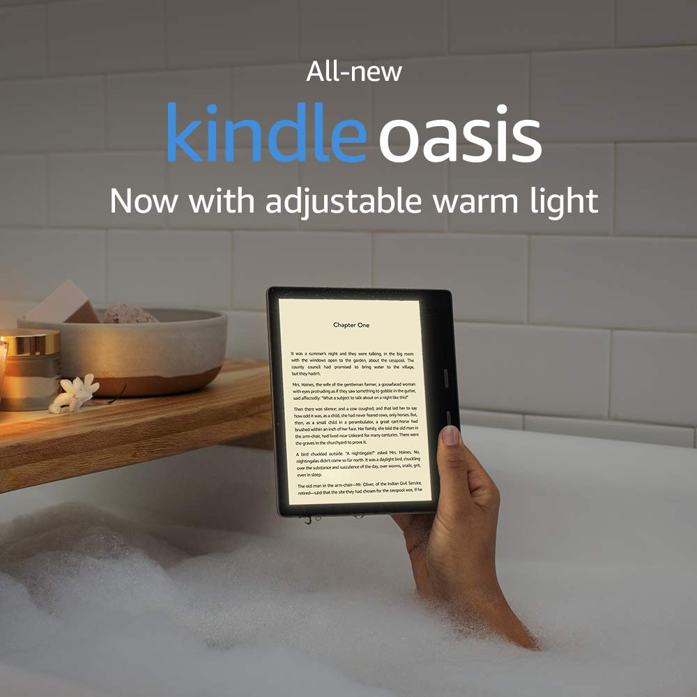 картинка Электронная книга Amazon Kindle Oasis 2019 8Gb Graphite (Special Offers) от магазина 1Reader.ru. Фото N2