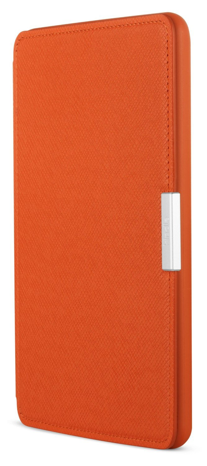 Чехол Leather Cover для Amazon Kindle Paperwhite Persimmon (Оранжевый). Фото N2