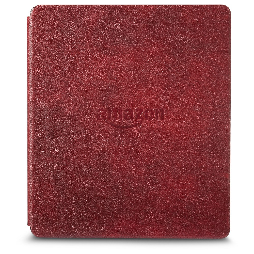 Электронная книга Amazon Kindle Oasis with Leather Charging Cover Merlot (Special Offers). Фото N3