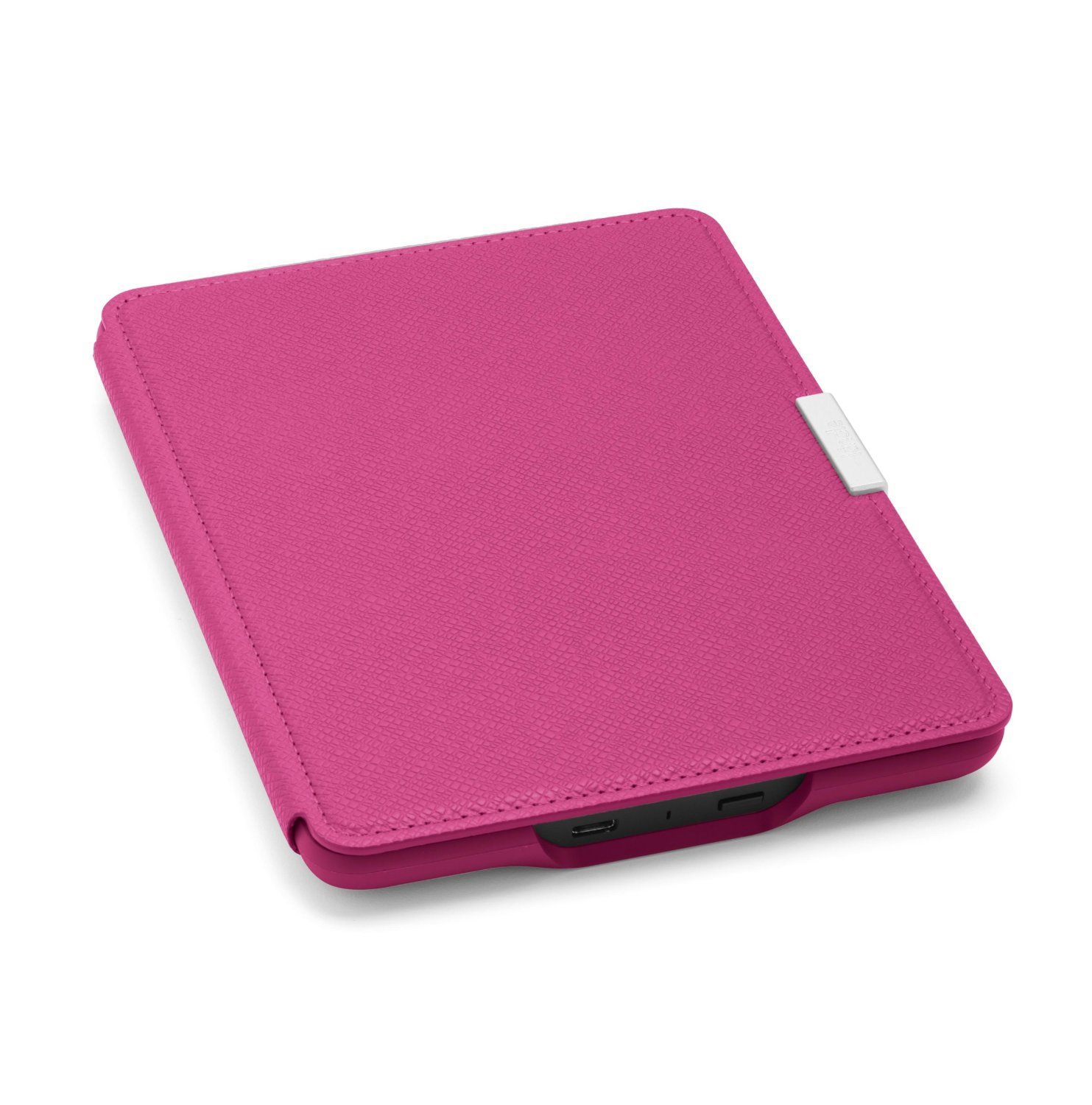 Чехол Leather Cover для Amazon Kindle Paperwhite Fuchsia (Розовый). Фото N2