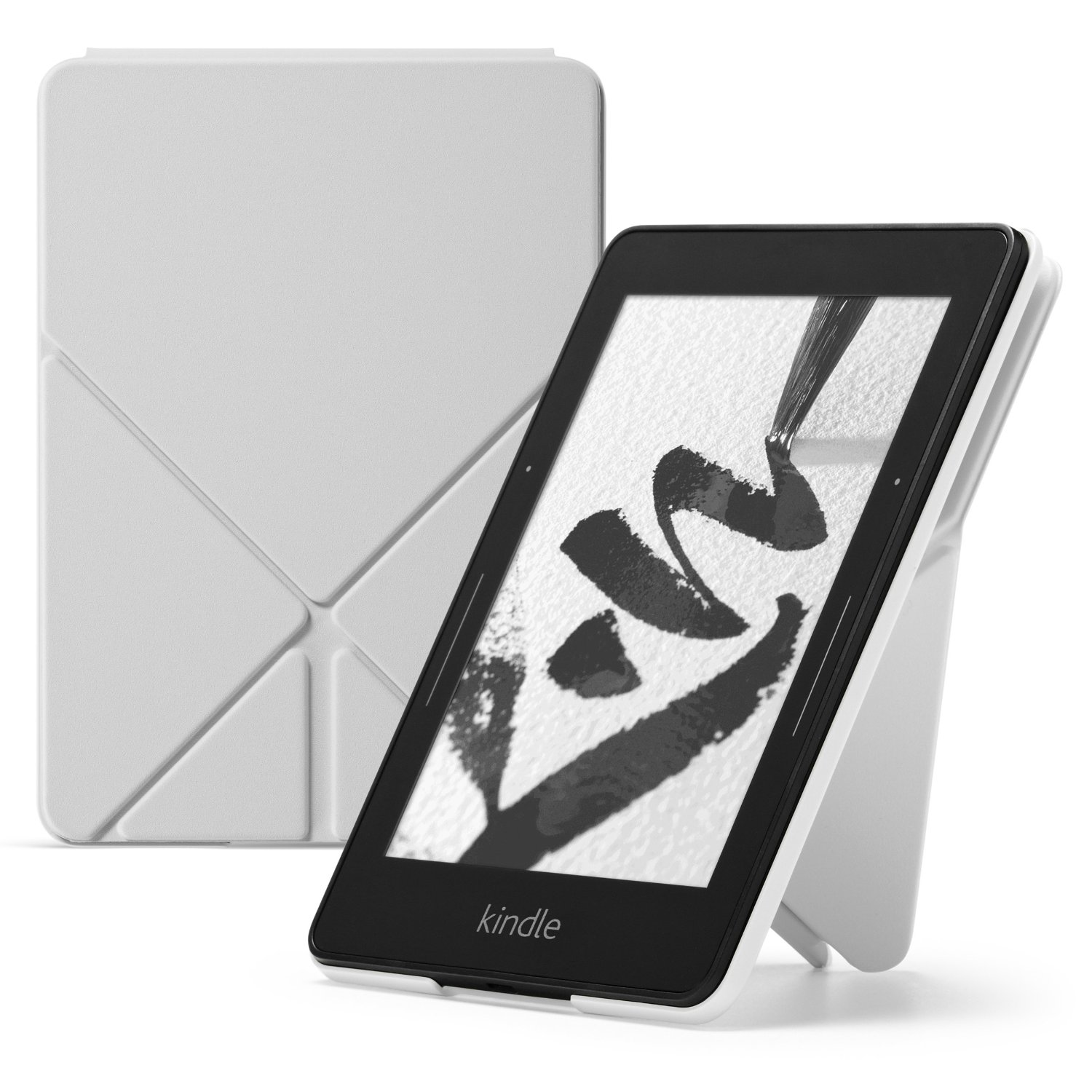 Чехол-обложка Amazon Protective Cover Origami для Kindle Voyage Royal (белый)