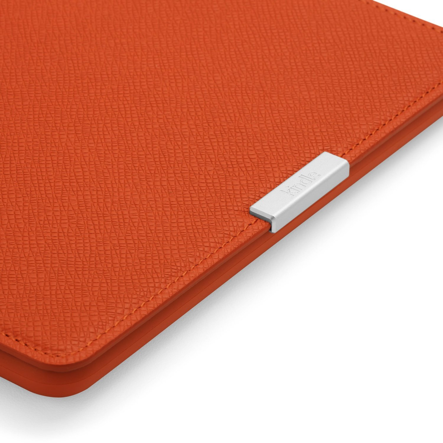 Чехол Leather Cover для Amazon Kindle Paperwhite Persimmon (Оранжевый). Фото N4
