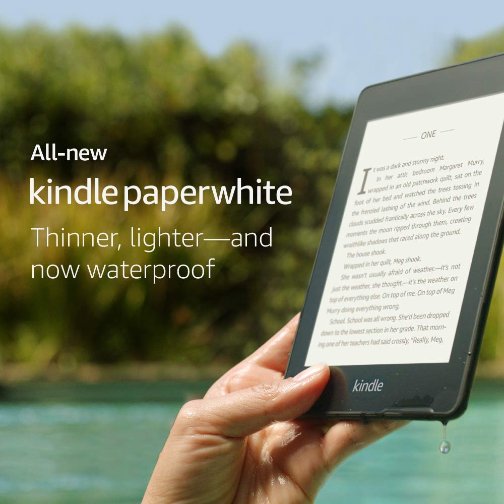 картинка Электронная книга Amazon Kindle Paperwhite 2018 8Gb (Special Offers) Black от магазина 1Reader.ru. Фото N3