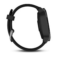 Умные часы Garmin Vivoactive 3 Music Black/Blue (Refurbished). Фото N5