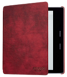 картинка Чехол-обложка Amazon Kindle Oasis Leather Cover Merlot от магазина 1Reader.ru