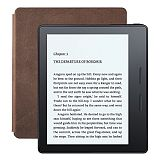Электронная книга Amazon Kindle Oasis with Leather Charging Cover Walnut Wi-Fi + 3G (Special Offers)