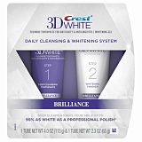 картинка Crest зубная паста 3D White Brilliance 2 Step Premium Toothpaste and Whitening Gel System от магазина 1Reader.ru