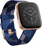 Умные часы Fitbit Versa 2 Special Edition (Navy & Pink Woven/Copper Rose)