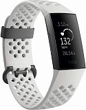 Умный браслет Fitbit Charge 3 (Graphite/White Silicone)